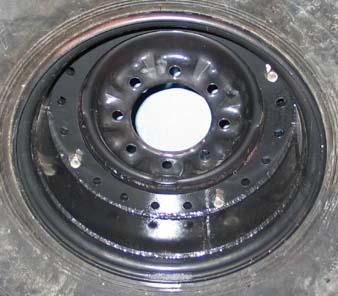 11L-14 American Farmer Rib Implement - m. e. MILLER tire