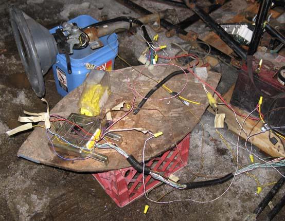 Instrument Panel Wiring Diagram Offhighway Truck Caterpillar 769b